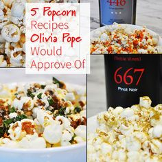 5 Popcorn Recipes Olivia Pop Would Approve Of