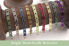 seed bead jewelry patterns for beginners Seed Bead Tutorials, Seed Bead Patterns, Beaded Bracelet Patterns, Beading Tutorials, Beading Patterns, Embroidery Bracelets, Bracelet Designs, Beading Ideas, Art Patterns