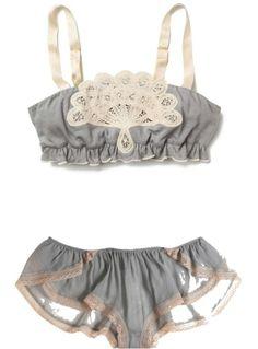 Nimbostratus Bralette by Kiki de Montparnasse. #lingerie #bra #underwear