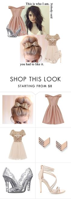 """""""This Is Who I Am, Nobody Said You Had To Like It."""" by kitty-kat-girl ❤ liked on Polyvore featuring THE HIP TEE, Chi Chi, FOSSIL, Dolce&Gabbana, Steve Madden and Kobelli"""