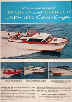 Chris Craft Got one in Sweden, original owner was actress and academy award winner Ingrid Bergman who got it as a gift from his then husband Lars Schmidt. Ski Boats, Cool Boats, Chris Craft Wooden Boats, Duck Boat Blind, Classic Wooden Boats, Cabin Cruiser, Plywood Boat, Vintage Boats, Wooden Boat Plans