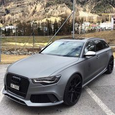 Matte grey beast from Audi⚫ Via @big.toys! What do you think of this color? I think it looks great. Do you agree? --- Photo by @kevin_khs
