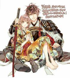 Nobunaga & MC - Ikémen Sengoku