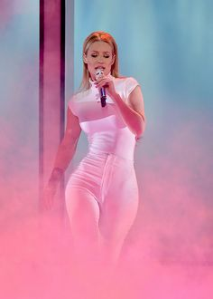 Iggy Azalea performs onstage during The 41st Annual People's Choice Awards at Nokia Theatre LA Live on January 7, 2015 in Los Angeles, California.