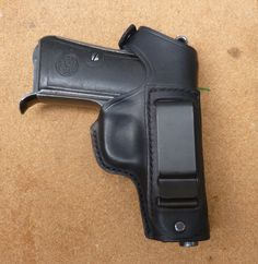 Beretta 1934 / 1935 back strap snap holster with IWB clip - handmade in the UK by makeitjones.co.uk