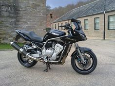 My Yamaha FZS 1000 Fazer.