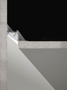 Corner by panzeri continuous line systems Hidden Lighting, Cove Lighting, Indirect Lighting, Linear Lighting, Strip Lighting, Interior Lighting, Lighting Design, Extruded Aluminum