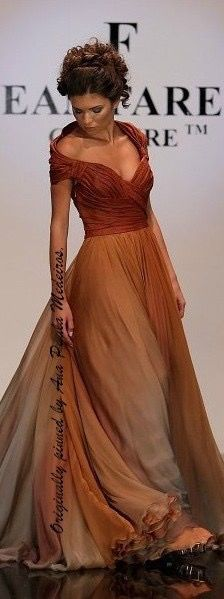 Love the color and the neckline