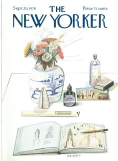 The New Yorker - Monday, September 20, 1976 - Issue # 2692 - Vol. 52 - N° 31 - Cover by : Eugène Mihaesco