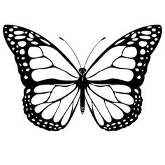Butterfly Printable Coloring Pages - Cool Butterfly Coloring Pages Ideas for Girls and Boys