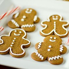 Gingerbread Men Cookies | Christmas Cookies | Brown Eyed Baker