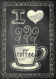 I ♥ coffee.
