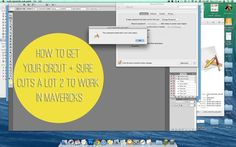 How to get Sure Cuts a Lot 2 to work in Mavericks