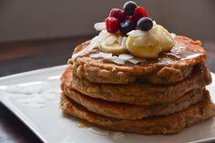 Vegie Head » Gluten Free Coconut Pancakes…