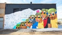 Murals in the Market – The creations of the street art festival in Detroit By Hebru Brantley