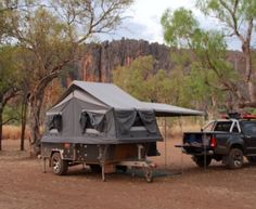 HIRE THIS RIPPER OF A OFF ROAD CAMPER 2014 MDC Crusader Camper Trailer (Thurgoona)