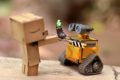 Wall-e and D.