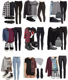 nice first day of school outfit tumblr - Google Search...