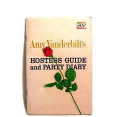 1960s Party Planner Amy Vanderbilt Hostess Guide by GlimmersinTime, $5.00