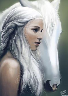 Картинка с Дейенерис из сериала Игра престолов - Картинки и фото на Avochka.ru