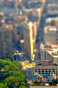 i love tilt shift photos