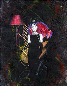 Audrey - Acrylic on canvas - 110x80cm