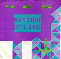 Yes - Rhythm of Love / City of Love (Live) (Single) Atco 0075679941978