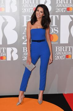 Michelle Keegan aux Brit Awards 2017