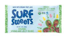 Spring Mix Jelly Beans: Made with organic fruit juice, no artificial colors or flavors, corn syrup free, free of top 10 allergens, nut free Easter candy, gluten free, nonGmo, soy free