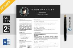 CM - Brilliance Resume / CV Ms Word is new modern simple clean resumes ready to use. Focus on quick editing process for . This theme contain main resume and cover Simple Resume, Modern Resume, Creative Resume, Creative Design, Resume Cv, Resume Design, Resume Tips, Resume Examples, Cv Template