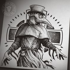 Plague Doctor by DeadInsideGraphics