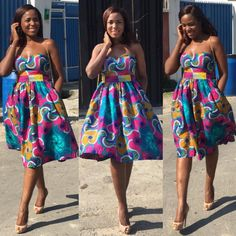 Check Out This Creative Ankara Gown Style - http://www.dezangozone.com/2015/12/check-out-this-creative-ankara-gown.html DeZango Fashion Zone