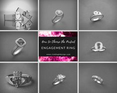 Heroic tackled engagement ring inspo Reserve Your Spot Irish Engagement Rings, Classic Engagement Rings, Platinum Engagement Rings, Perfect Engagement Ring, Simple Solitaire, Solitaire Diamond, Tension Ring, Ready For Marriage, Irish Rings
