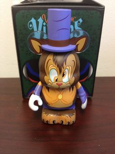 "Gideon The Cat from Pinocchio 3"" Vinylmation Villains Series 3 