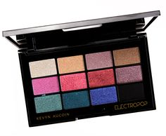 Kevyn Aucoin ElectroPop Pro Eyeshadow Palette Review, Photos, Swatches