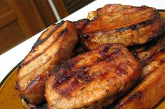 Coffee-Marinated Pork Chops - Home Cooking Memories Marinated Pork Chops, Pork Marinade, Pork Cops, Food Categories, No Bake Treats, Savoury Dishes, Main Meals, Recipe Using, Sauce Recipes