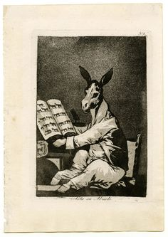 Los Caprichos de Goya ejemplifican un mundo en crisis, entendida esta idea en el sentido de cambio. Conceptualmente revelan las fisuras de una estructura sociopolítica basada en una anquilosada estratificación estamental, y de un sistema de valores fundamentado en el inmovilismo de las costumbres y la tiránica opresión religiosa de las conciencias.