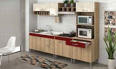 Se esse ambiente for a cozinha então, mais ainda. Afinal, mesmo uma cozinha vermelha deve passar a leveza e alegria que esse cômodo traz para a casa.