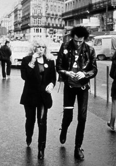 Sid Vicious & Nancy Spungen.