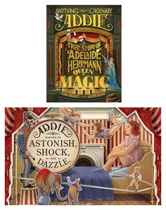 Empowering books for girls: Anything But Ordinary Addie by Mara Rockliff and illustrated by Iacopo Bruno