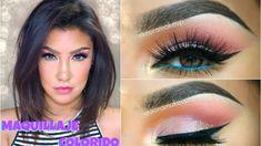 Maquillaje COLORIDO de Primavera / Spring Colorful makeup tutorial   aur...