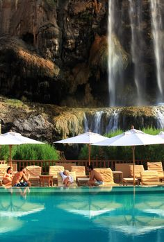 Evason Ma'In Hot Springs Hotel is located only 4 kilometers from the Dead Sea, Jordan.