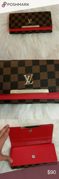 Wallets New inspired wallet high quality without box just the wallet Louis Vuitton Accessories Belts