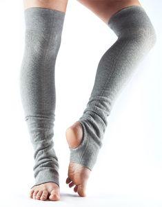 1Pair Leg Warmers Knee High Muscle Warming Dance Training Exercise Yoga Socks LA