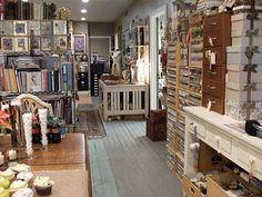 The studio of Ms. Jo Packham, creator of Where Women Create magazine (one of my favorites!)