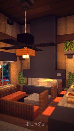 Minecraft Mods, Modern Minecraft Houses, Minecraft Mansion, Minecraft Cottage, Minecraft Plans, Minecraft House Designs, Amazing Minecraft, Minecraft Bedroom, Minecraft Tutorial