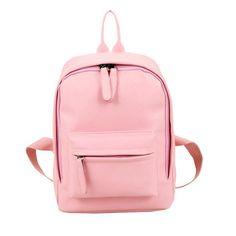 50eb67e0462b Women Backpack High Quality PU Leather Mochila Escolar School Bags For  Teenagers Girls Backpacks Herald Fashion