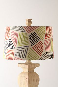 Crazy, colorful Anthropologie lamp