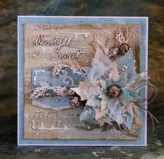15 Ideas diy christmas tags shabby chic - Christmas cards, and tags. Diy Christmas Tags, Christmas Card Sayings, Shabby Chic Christmas, Xmas Cards, Handmade Christmas, Vintage Christmas, Christmas Crafts, Christmas Messages, Funny Christmas
