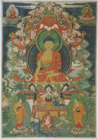 Gautama Buddha Calling the Earth to Witness, Tibet c. Philadelphia Museum of Art Peace Art, Gautama Buddha, Philadelphia Museum Of Art, Tibet, Cosmos, Zen, Meditation, Earth, In This Moment